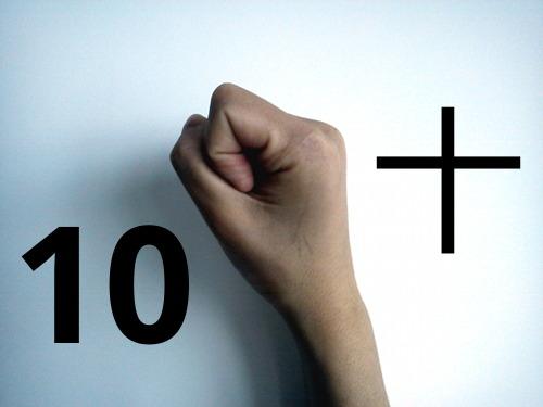Zo tellen Chinezen tien met hun vingers