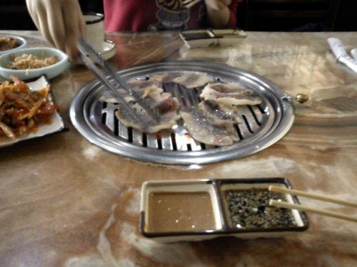 ehm.. dit is eigenlijk geen Chinees eten, maar het is wel in China