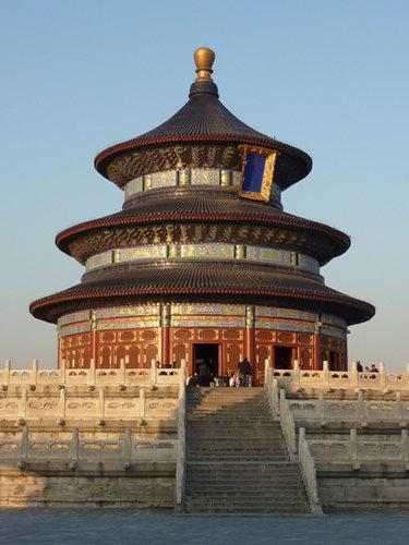 Gebedshal voor de Goede Oogst, onderdeel van de Tempel van de Hemel in Beijing