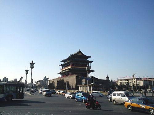 Zhengyangmen op het Plein van de Hemelse Vrede